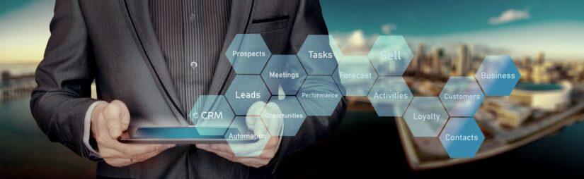 As principais áreas de evolução no CRM